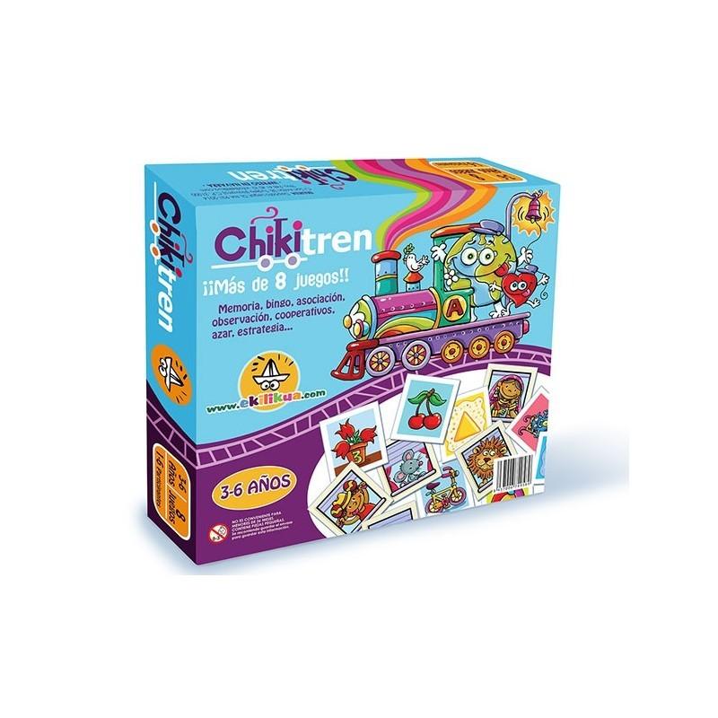 """El ChikiTren """"Mis primeros juegos de mesa"""""""
