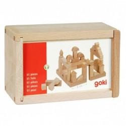Construcciones en miniatura 51 piezas