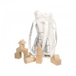 Construcciones de madera 45 piezas