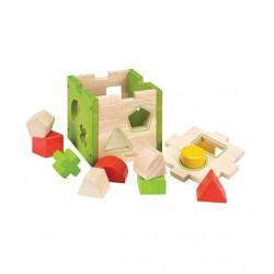 Cubo de figuras geométricas