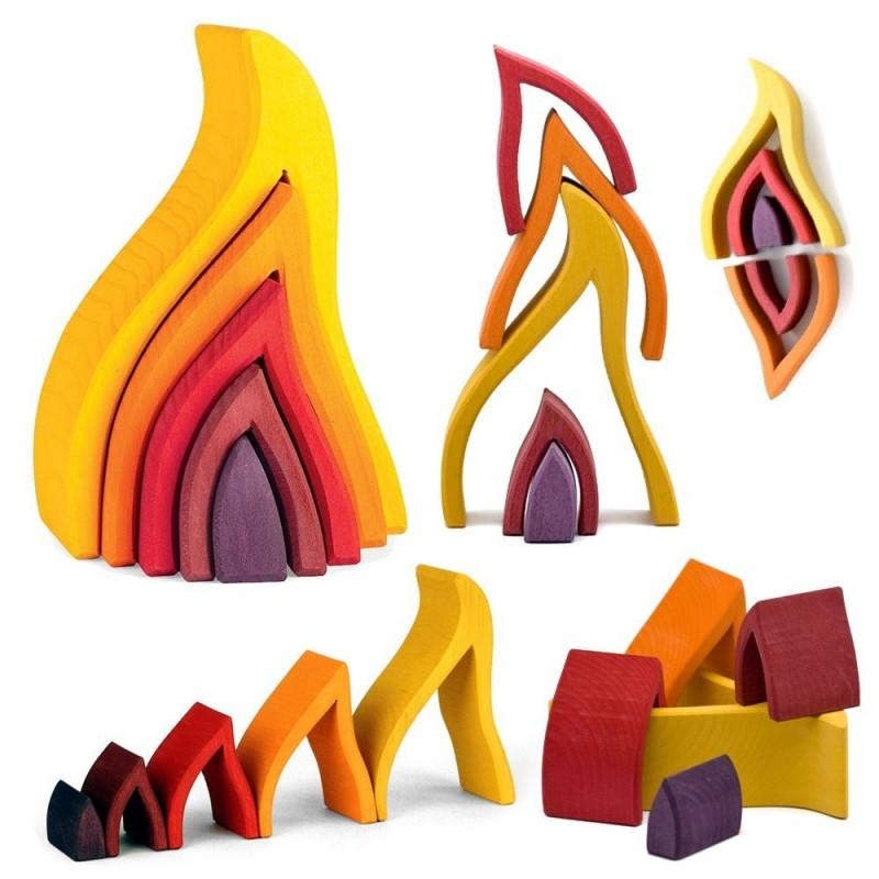 Olas de fuego encajables