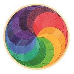 Puzzle Mandala Espiral