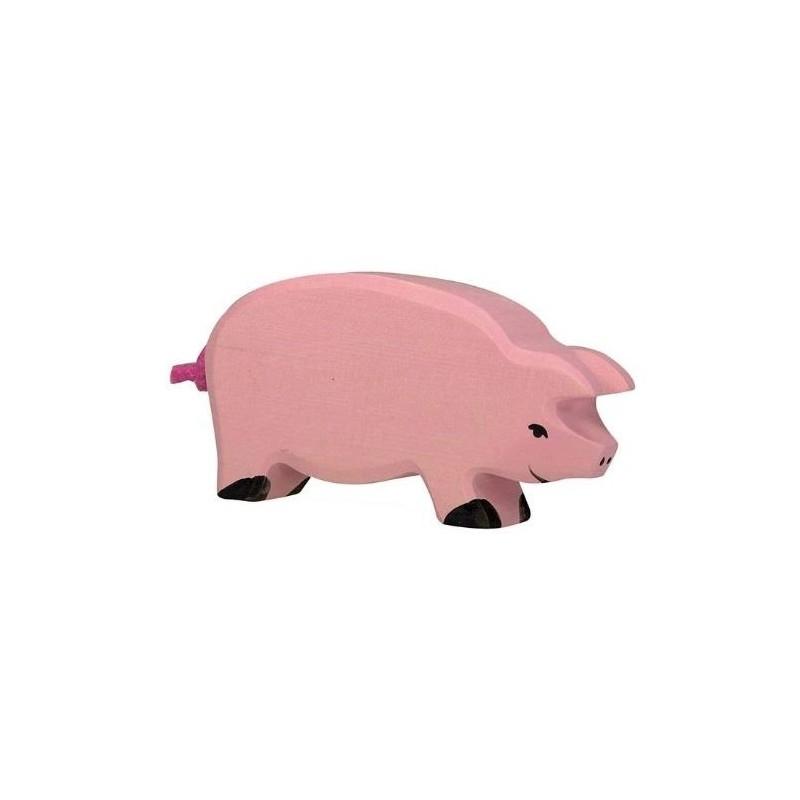 Cerdo - Animal de madera