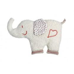 Sonajero elefante algodón orgánico