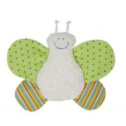 Sonajero mariposa algodón orgánico