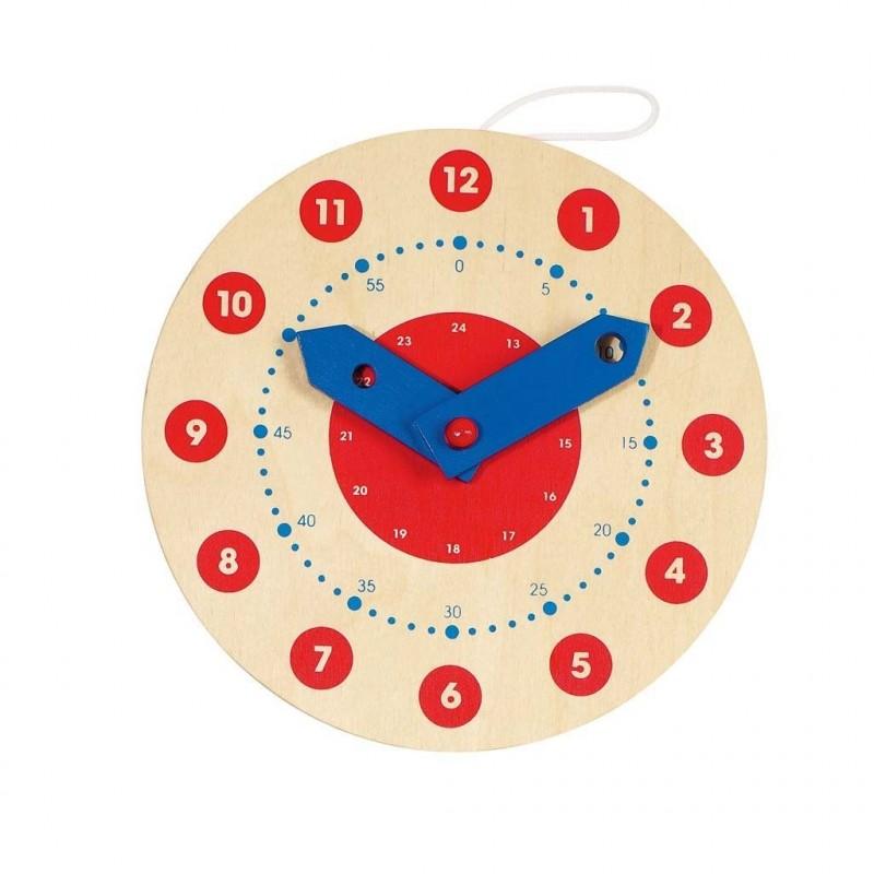 Reloj de aprendizaje.