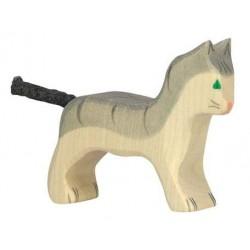 Gato- Animal de madera