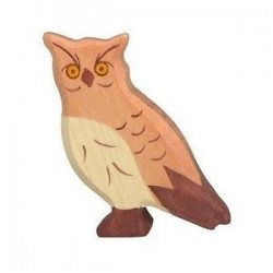 Buho- Animal de madera