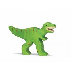 Tiranosaurio Rex- Animal de madera