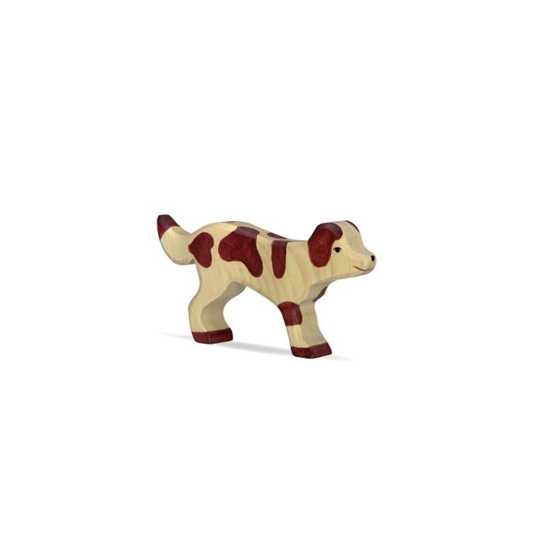 Perro- Animal de madera
