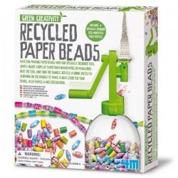 Crear joyas con papel Reciclado