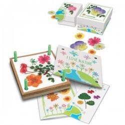 Eco prensadora de flores