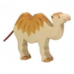 Camello- Animal de madera