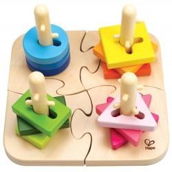 Apilable puzzle motricidad