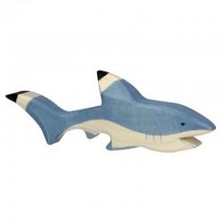 Tiburón - animal de madera