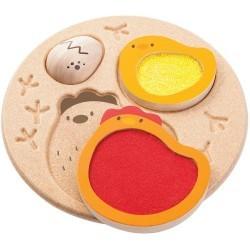 Puzzle pollito