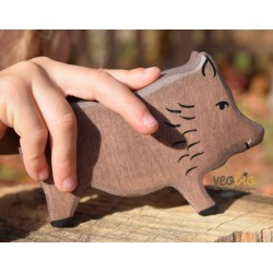 Jabalí- Animal de madera