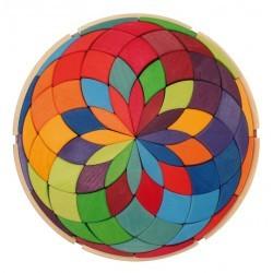 Gran puzzle mandala espiral