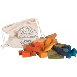 Bloques Rainbow XL saco 50 piezas