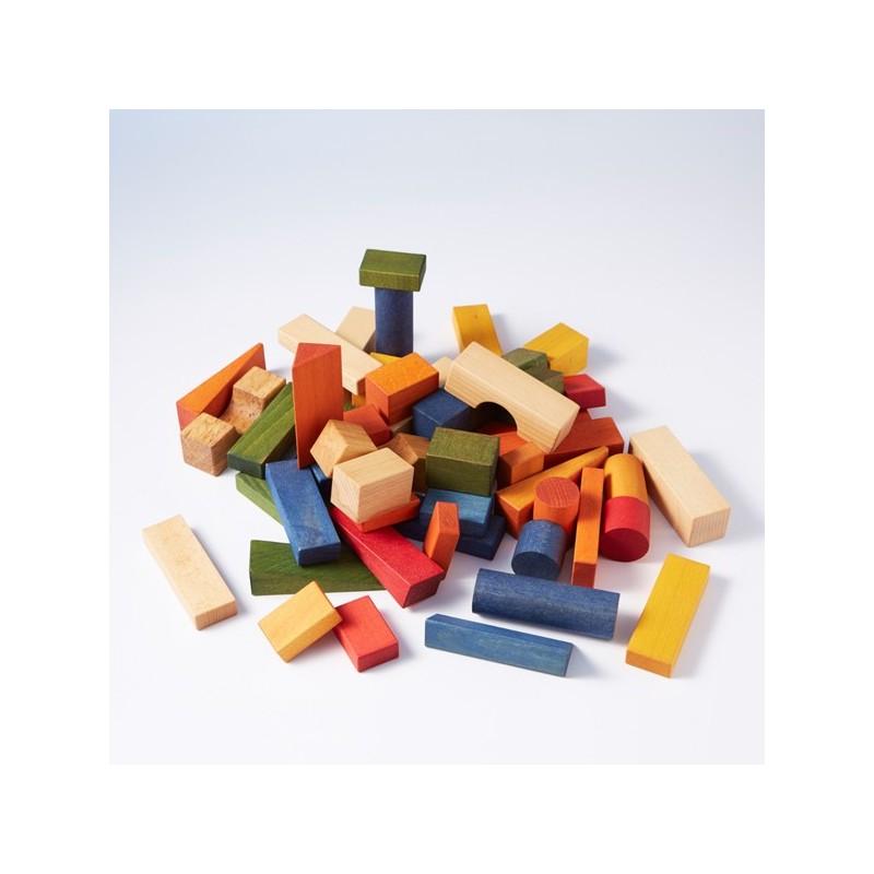 Bloques Rainbow XL 63 piezas
