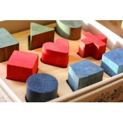puzzle formas vintage