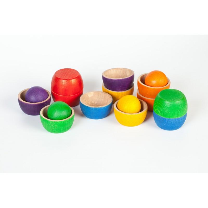 Cuencos con bolas