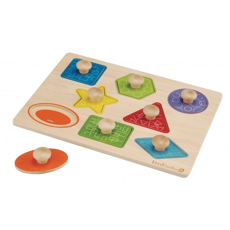 Puzzle formas encajables
