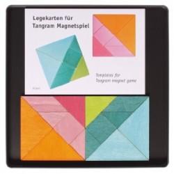 Puzzle magnético Tangram