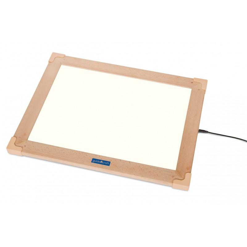 Mesa de luz de LEDS portátil con marco
