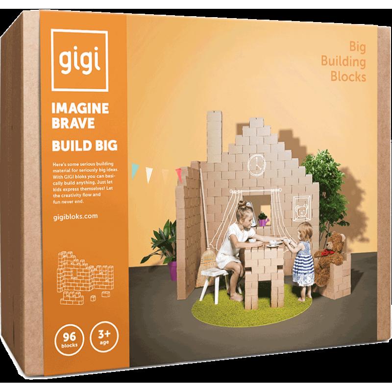 96 Ladrillos de construcción GIGI XL.