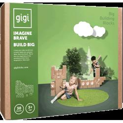 30 Ladrillos de construcción GIGI XL