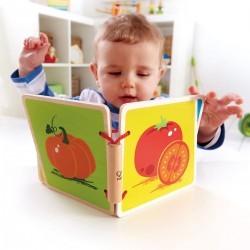 "Libro de madera ""Frutas"""
