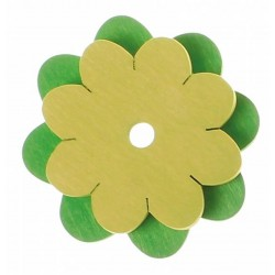 Telar flor verde