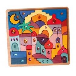 Puzzle con brillantes Oriente