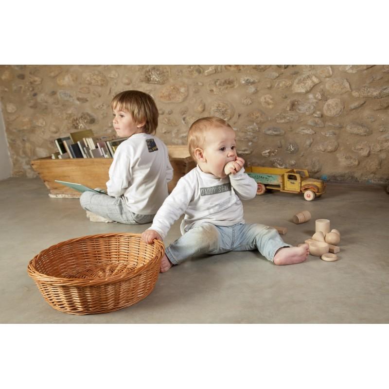 Materiales de madera para canasta de los tesoros 20 piezas