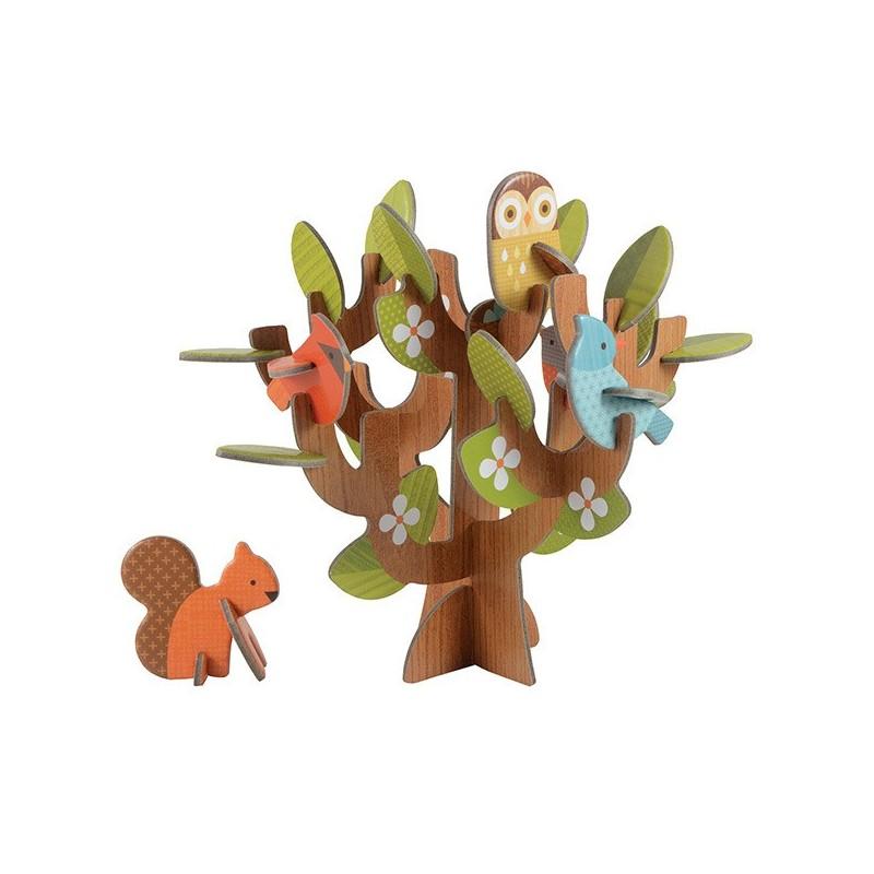 Juego de encaje Árbol del bosque