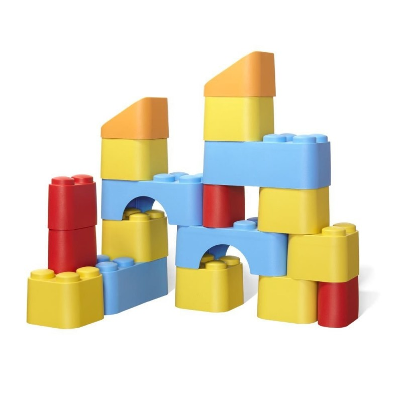 Bloques de construcción 100% Reciclado