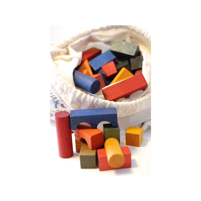 Bloques Rainbow saco 100 piezas