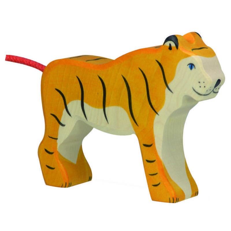 Tigre- Animal de madera