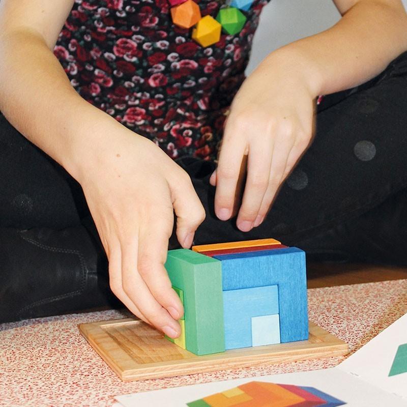 Puzzle mil formas (versión mediana).