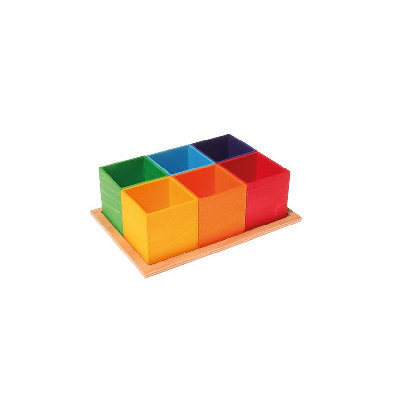 Cajas arco iris