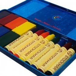 Combinado Stockmar (8 bloques y 8 ceras)