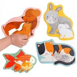 Mis primeros puzzles Mascotas
