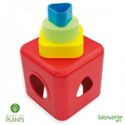 Caja de formas (plástico natural) BIOSERIE