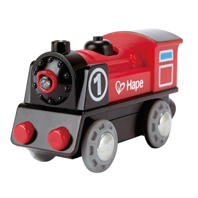 Locomotora con bateria y luz