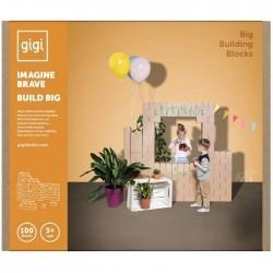 100 ladrillos de construcción GIGI XXL