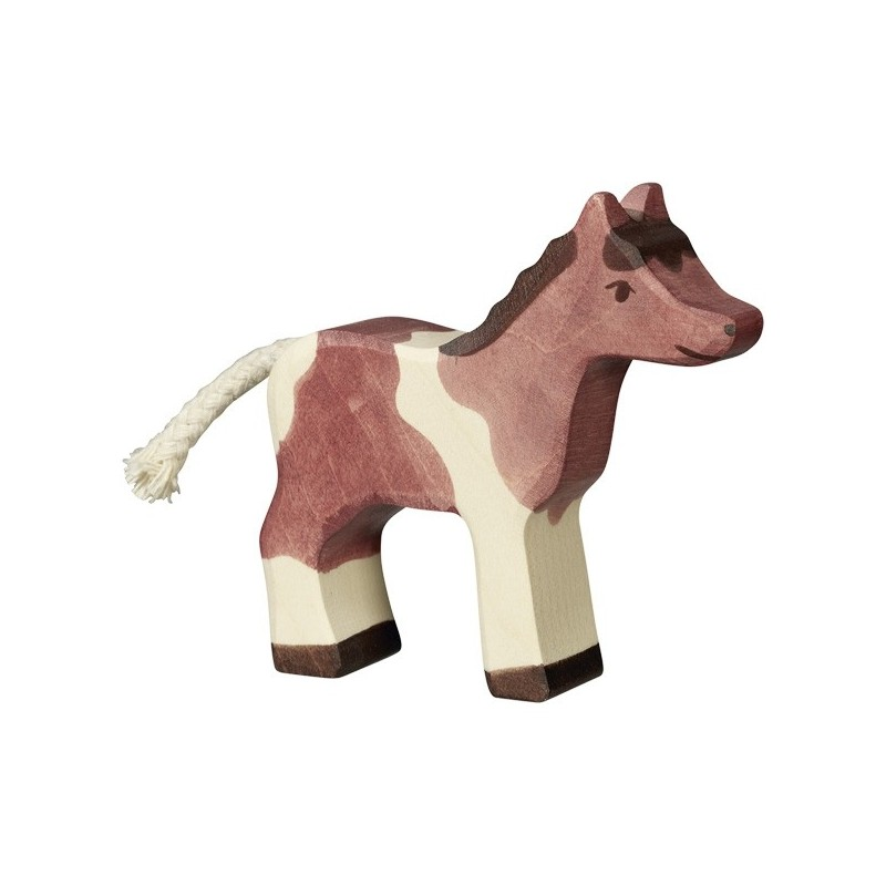 Poni pequeño- Animal de madera