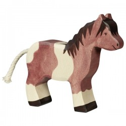 Poni- Animal de madera