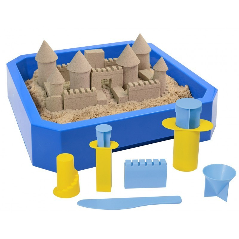 Kit Kinetic sand castillos