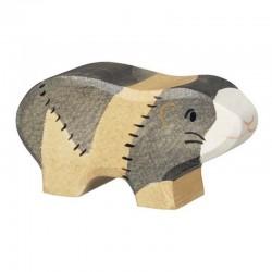 Cobaya - Animal de madera